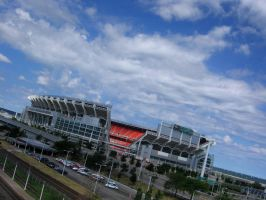Cleveland Browns Stadium by chameleon09