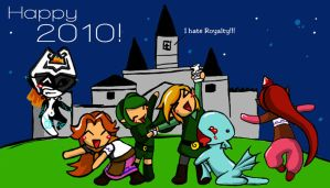 In Hyrule we do party by SantaiIvy