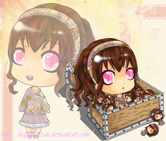 Chest full of Chibis by Happy-Nyan