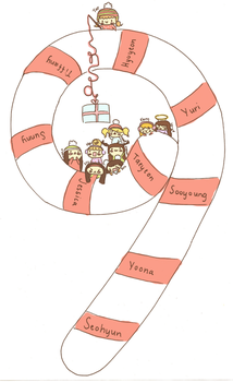 SNSD Christmas by apple-apple