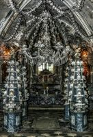 Ossuary in Sedlec III by pingallery