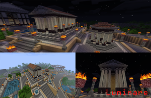 Minecraft- Server Spawn Temple by X-Luminare-X