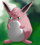 Wigglytuff by Chicorii