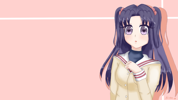 kotomi wallpaper by sian8348