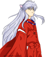 InuYasha by AkinaSumizome