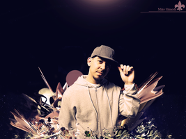 Mike Shinoda Wall -My First- by feLipeeeE