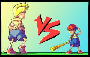 Ness and Lucas by ComicBoySupreme