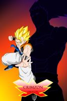 CrimZon Dragon: Gogeta vs Sammael by Unknown117