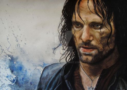 Aragorn by Aillly
