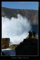 Shipstern Bluff - No Waves? by eehan