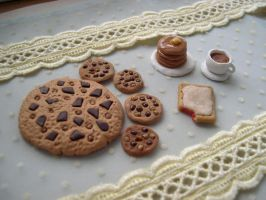 Tea Time Fimo Food by HateSong
