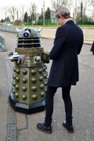 The Doctor and The Dalek by masimage