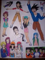 more old DBZ pics by BobsCookie