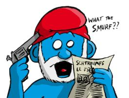 What the smurf by Gillus99