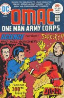 Issue 100 we'll never see - OMAC by Nick-Perks