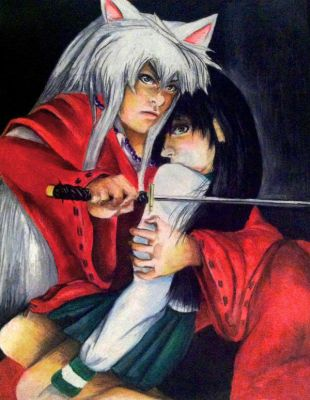 Inuyasha and Kagome by PKDsm