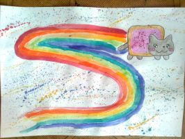 Nyan Cat by CocoAnime