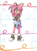 AT: Amethyst the Hedgehog by Lolly-pop-girl732