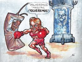 Que Hace Bachelet by valhadar