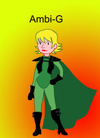 Ambi-G - OC Design by The-Concept-Artist
