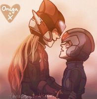 Kiss For Peace__OmegaX by Sanakudou