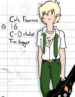 AU School Cole by AskColeTheFaun