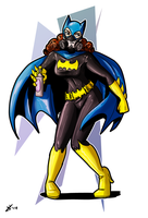Batgirl, ready for action! by ToniBabelony