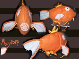 Multipurpose Magikarp Plush by DreamInfinitely