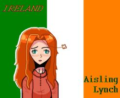 Ireland - MS Paint style~ by APH-RepblicOfIreland