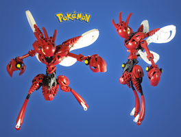 Commission: Pokemon Scizor