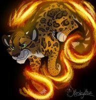 Fiery Feline by BosleyBoz