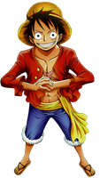 One Piece Monkey D. Luffy Png by bloomsama