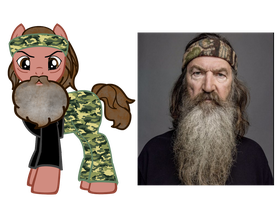 Phil Robertson ponified by kuren247