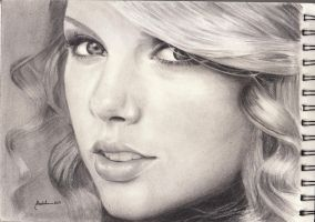 taylor swift portrait by rachdeart