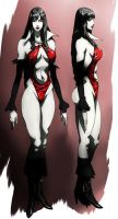Vampirella animated by CHUBETO