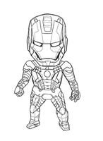Iron Mini MK V (Lineart) by b-dangerous