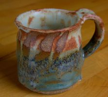 SPODUMENE AND WOO BLUE MUG by CorazondeDios