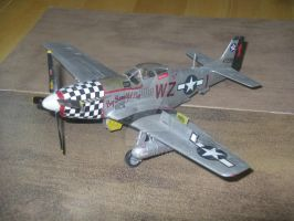 P-51D Mustang Scale Model by SurfTiki