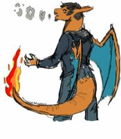 Charizard Self by V8Arwing67
