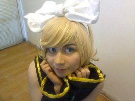 Kagamine Rin Cosplay Sweet by RinxSongs