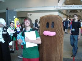 Otakon 2009 Diglett + Tracy by Ho-ohLover