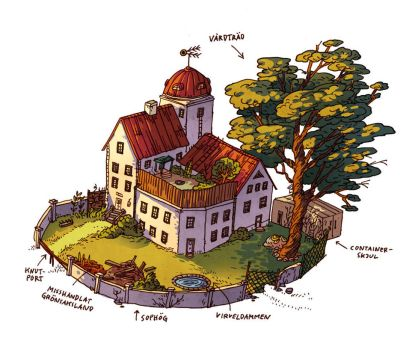 House map by Elolinon