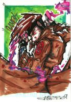 gambit sketch card by CRISTIAN-SANTOS