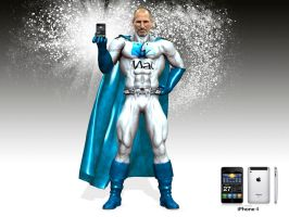 SUPER STEVE JOBS by isikol