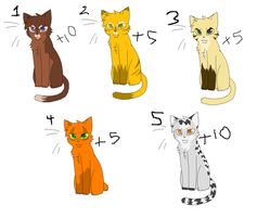 Cat Points adoptibles by OfTheStorm