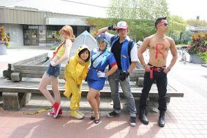 Pokemon Group - Cos and Effect 2012 by stephinika