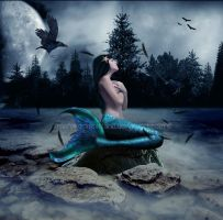 Lonely Mermaid by MaryInZombieland