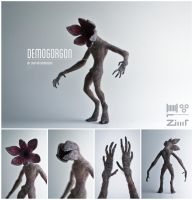 [AT] Demogorgon by ZimtBeadwork