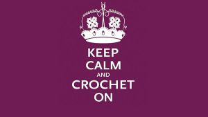 Keep calm, crochet on by cradlingdarkness