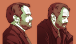 Crowley Sketch Dump by NessaSan